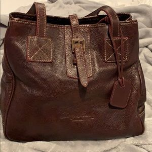 Authentic Brown Leather Dooney & Bourke Bag